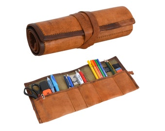Gusti leather 'Benjamin' Leather stationery