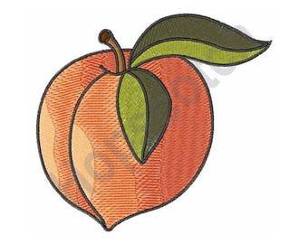 Ripe Peach - Machine Embroidery Design