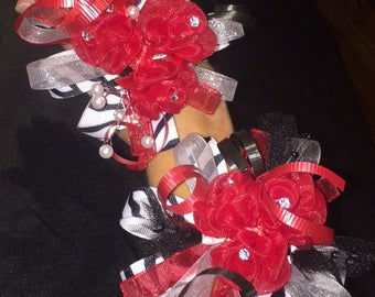 Homecoming Wristlet corsages