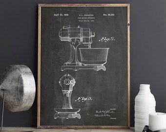 Kitchen Mixer Print, Kitchen Mixer Poster, Kitchen Mixer, Kitchen Mixer Decor, Kitchenaid, Kitchen Aid, Bakery Wall Decor, INSTANT DOWNLOAD