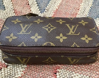 Louis Vuitton Vintage Monte Carlo PM Jewelry Case