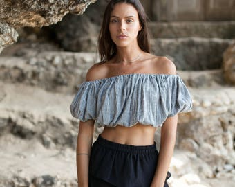 Fiorella Crop Top