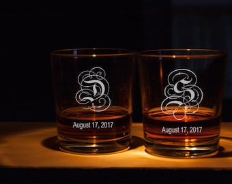 Personalized glass   Etsy