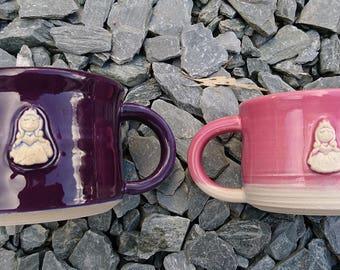 Handmade Stoneware Ceramic Pottery Mug/Cup 400 - childrens