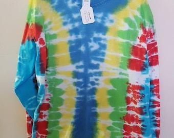 Tie Dye Shirt, Long Sleeve, Large (101-1281)