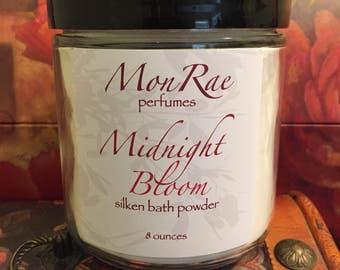 Midnight Bloom silken bath powder