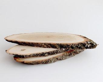 Wood slice,wood slices,wood slab,rustic bark,wooden blank,wood plank,birch slice,large wood slice,large wooden slices,live edge wood slice