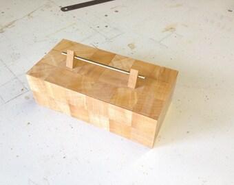 Segmented Jacaranda Jewellery And Trinket Box