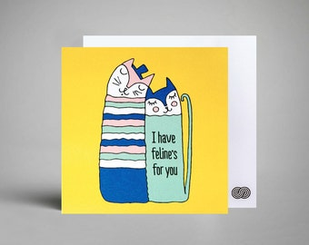 Felines for You Notecard