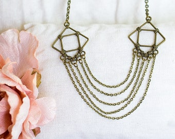 5 Chain Necklace