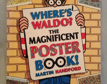 First edition where's Waldo, the magnificent poster book