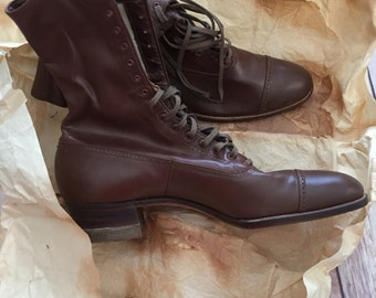 Vintage High Top Boots
