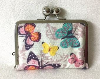 Card holder/card solution/ironing bag: Butterfly