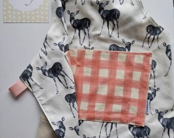 Kids Apron - Pastel Deer