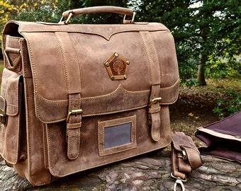Handmade leather Camera bag Hand made Laptop Bag Vintage leather Briefcase Vintage messenger bag  DSLR Camera Bag Shoulder Bag Gifts For Men