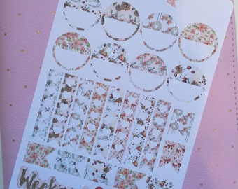 Christmas Holly Functional Stickers