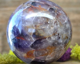 Amethyst Crystal Sphere Ball - 1056.04