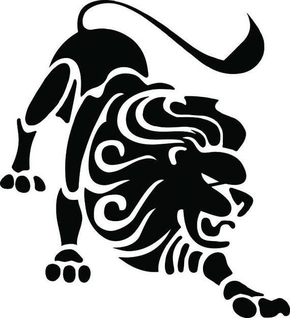 Download Zodiac Sign Leo Lion Astrology Horoscopes .SVG .EPS .PNG ...