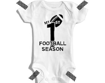 My 1st football season - Football baby - Baby shower gift - Newborn football outfit - Football outfit - first football season