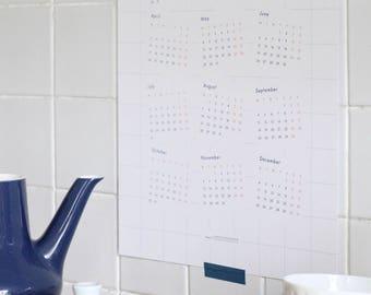 Calendar 2017 - A3 - Poster - Print