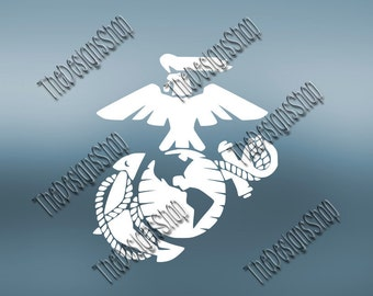 United State Marine Corps | Special Operations | Air Force | Navy | Army |  Svg Dxf PDF SCAL | Silhouette Studio Cricut Cut File | 014