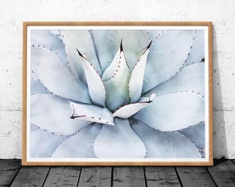 Agave Print, Agave Art, Agave Plant Print, Instant Download Printable Art, Cactus Wall Art Print, Cactus Art, Cactus Print, Wall Art Print
