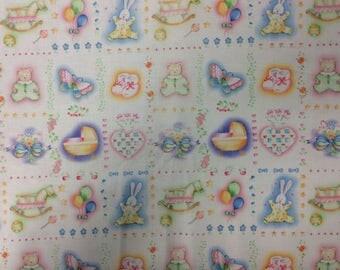 Baby Talk/ Cotton Fabric/ 1-4 Yards