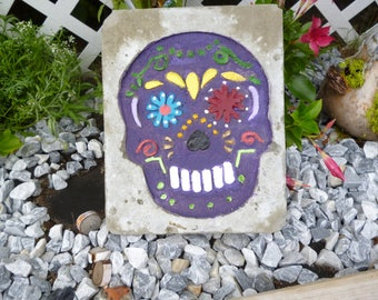 Day of the Dead Stepping Stone/Yard Art
