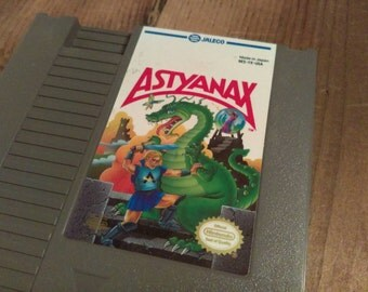 Astyanax Vintage NES Game Cartridge
