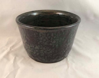 "Large ""Hammered"" Bowl - Stoneware"