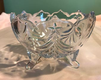 Christmas Crystal Candy Bowl