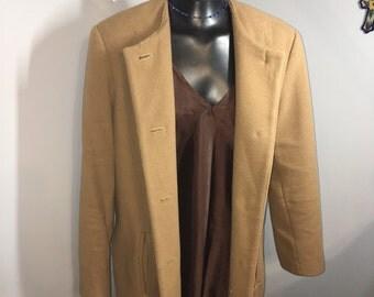 Vintage Camel Overcoat