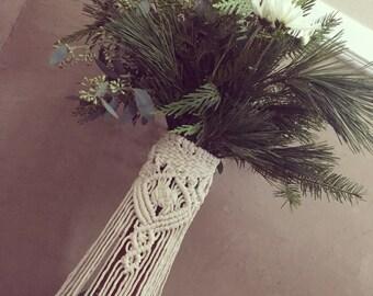 Wedding bouquet wrap/vase wrap