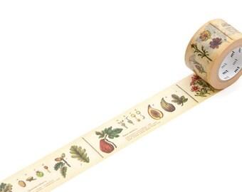 MT Plant Washi Tape, Flower, Decorative Tape, Planner Accessories, Bullet Journal Supplies, Garden Planner, Garden Planning, Gardener Gift