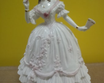 """Royal Worcester """"The Masquerade Begins"""" Limited Edition Figurine"""