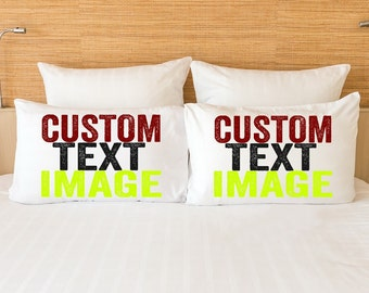Personalized couples gift set, custom wedding gifts for couple, personalized gifts for couple, custom couple pillowcases, engagement gifts