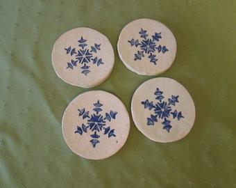 Set of four coasters- These are seconds