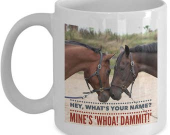 Funny Horse Coffee Mug - Novelty Horse Lovers Gifts - Horse Merchandise - Gift For Horse Lover