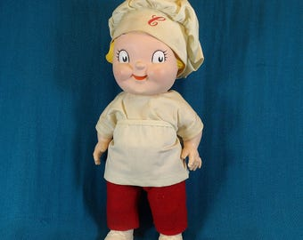 Campbell Soup Kid Vintage Collectable Doll