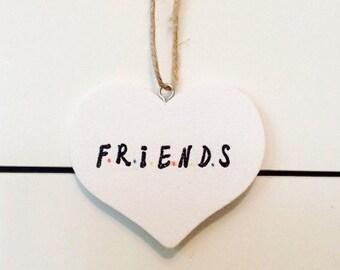Friends tv show wall plaque/sign.