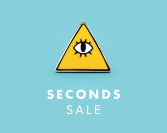 SECONDS SALE | Reality Is An Illusion Enamel Pin