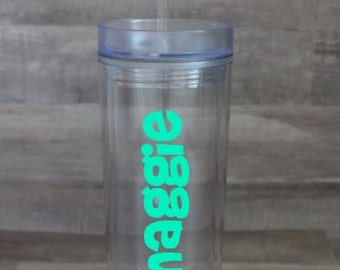 Personalized 16oz Skinny Tumbler