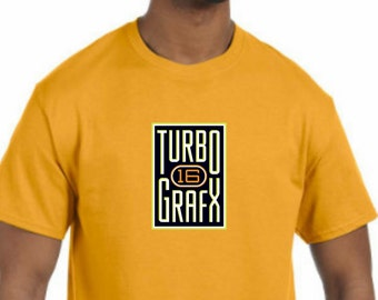 Turbo Grafx 16 T-Shirt NEW (NWT) *Pick your color & size*