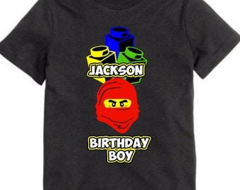 Ninjago Birthday Shirt