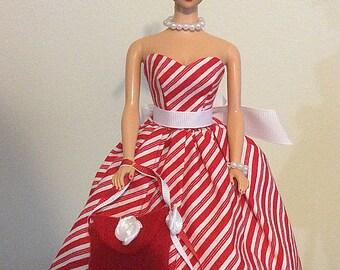 Barbie Vintage inspired handmade dress 6 Piece Set