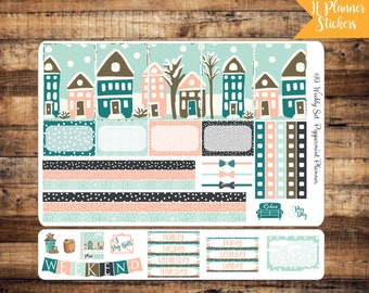 H Weekly Planner Stickers, Snowy Day {#19}