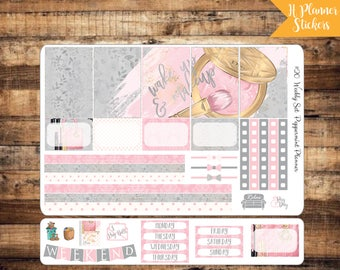 H Planner Make up Weekly Planner Stickers {#20}