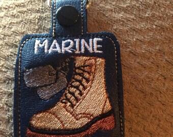 Marine Brother key chain