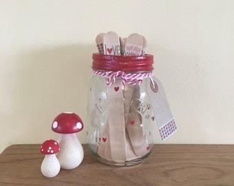 Date Night Jar • love • anniversary • wedding • valentines