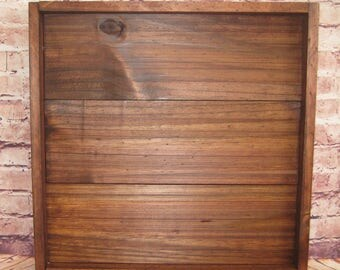 Handcrafted Wood Shadow Box, Display Case